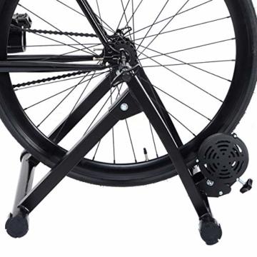 costway rollentrainer cycletrainer fahrrad heimtrainer. Black Bedroom Furniture Sets. Home Design Ideas
