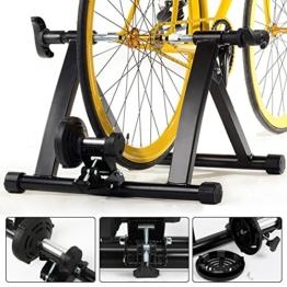 Yaheetech Rollentrainer für Fahrräder